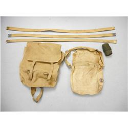 ASSORTED CANADIAN/BRITISH MILITARY BAGS & SLINGS