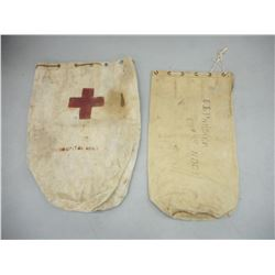 CANADIAN WWI/II SACKS/ DUFFLE BAGS