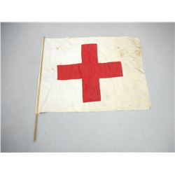 ANTIQUE RED CROSS FLAG