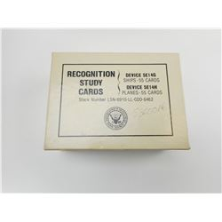 U.S. ARMY RECOGNITION STUDY CARDS