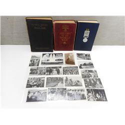 BOOKS & PHOTOS FROM WWI & WWII
