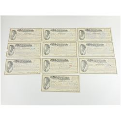 WESTERN CHEQUES FROM THE CITY OF GREAT FALLS, MONTANA