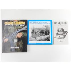 GERMAN WWII FIREARMS & UNIFORM BOOKS