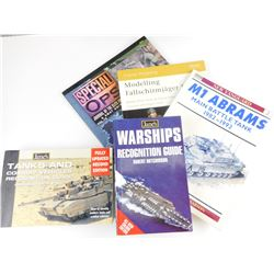 ASSORTED MILITARY REFERENCE BOOKS
