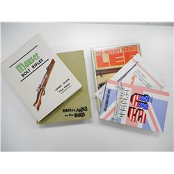 ASSORTED MILITARY FIREARMS BOOKS & INFORMATION