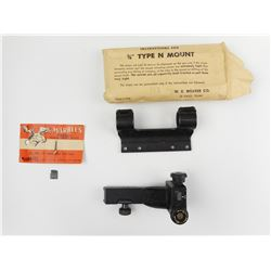 ASSORTED SCOPES & PARTS