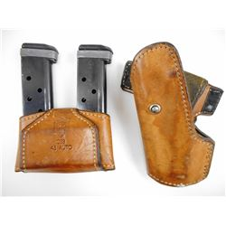 MAGAZINES & SAFARILAND HOLSTERS