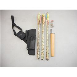 ASSORTED ARROWS & QUIVERS