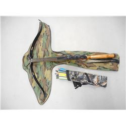 SCORPION 302 CROSSBOW WITH SOFT CASE & QUIVER OF BOLTS