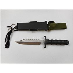 SPECIAL FORCES SURVIVAL KNIFE WITH SHEATH