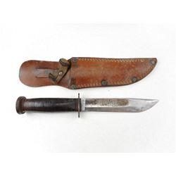 WESTERN BOULDER KNIFE WITH SHEATH