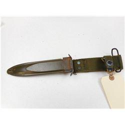 U.S.M. FIGHTING KNIFE FIBERGLASS SHEATH WITH FROG