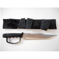 UC BUSHMASTER SURVIVAL KNIFE KIT WITH SHEATH