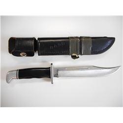BUCK BOWIE KNIFE WITH SHEATH