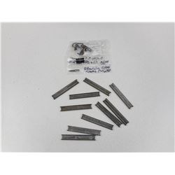 BROWNING & REMINGTON GUN PARTS WITH STRIPPER CLIPS