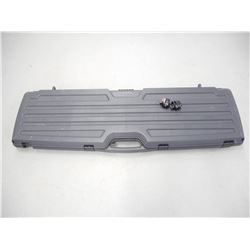 PLANO GUN GUARD HARD RIFLE CASE & TRIGGER LOCKS
