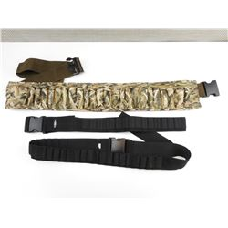 ASSORTED AMMO BELTS