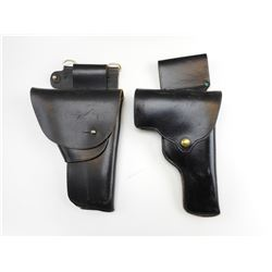 LEATHER POLICE STYLE HOLSTER S