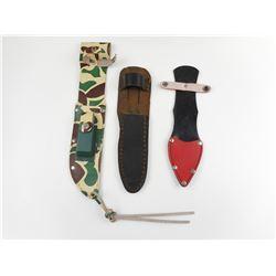 ASSORTED KNIFE SHEATHS