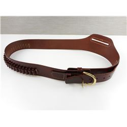 TRIPLE K BRAND LEATHER AMMO BELT