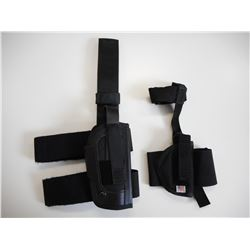 ASSORTED LEG HOLSTERS