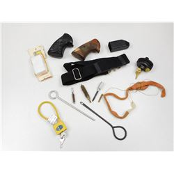 ASSORTED CLEANING & GUN ACCESSORIES
