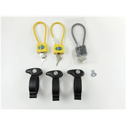 ASSORTED CABLE LOCKS