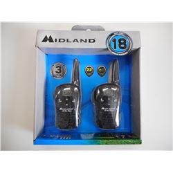 MIDLAND X-TRA TALK TWO WAY RADIOS