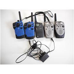 ASSORTED GENERAL ELECTRIC WALKIE-TALKIES