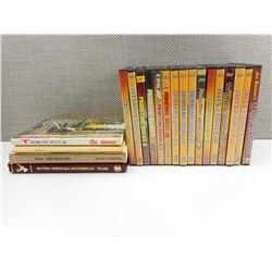 ASSORTED HUNTING BOOKS & DVDS