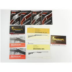 ASSORTED BROWNING FIREARMS MANUALS