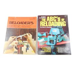 ASSORTED RELOADING BOOKS