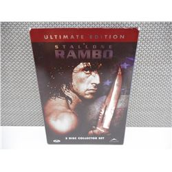 RAMBO DVD COLLECTION ULTIMATE EDITION