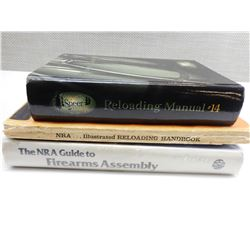 ASSORTED FIREARM ASSEMBLY & RELOADING BOOKS