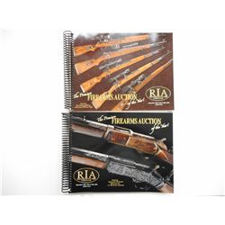 ROCK ISLAND AUCTION COMPANY SEPT 2010 CATALOGS