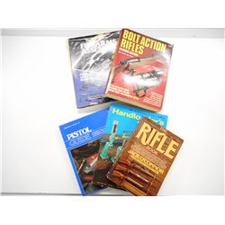 ASSORTED FIREARMS & RELOADING BOOKS