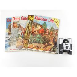 OUTDOOR LIFE MAGAZINE & BINOCULARS