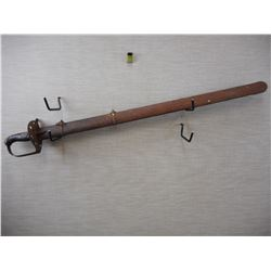 BRITISH 1788 PATTERN SWORD WITH SCABBARD