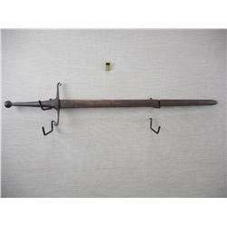 HANDFORGED TWO HANDED SWORD