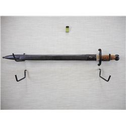 JAPANESE ARTILLERY SWORD WITH SCABBARD