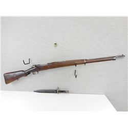 WWII ERA, MAUSER, MODEL: 1903 TURKISH RIFLE , CALIBER: 8MM MAUSER