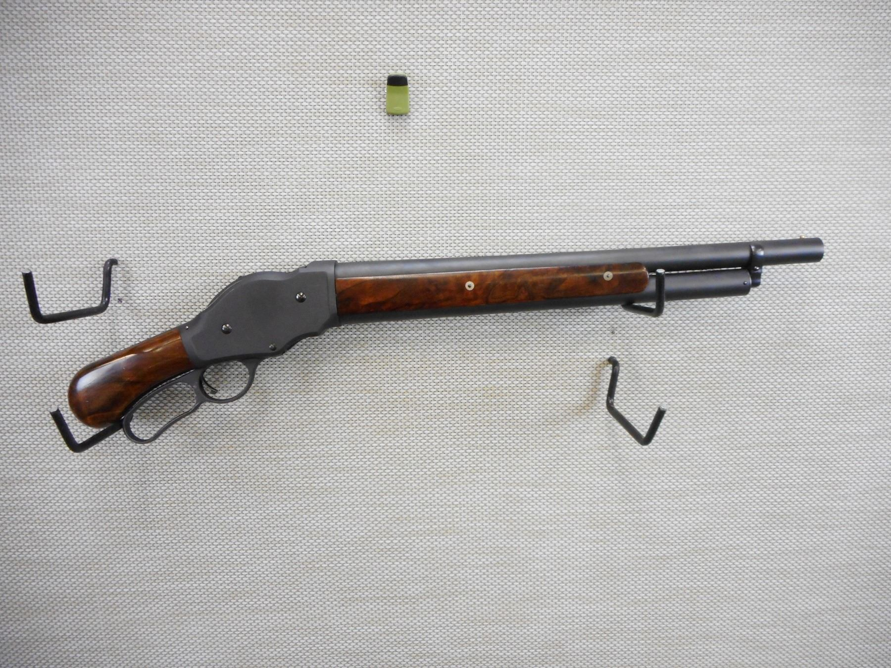 CHIAPPA, MODEL: 1887 REPRODUCTION MARES LEG , CALIBER: 12GA X 3