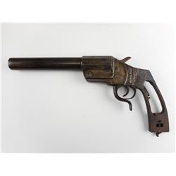 WWI RELIC RECOVERED GERMAN FLARE GUN VERY PISTOL, MODEL: FLARE GUNS, CALIBER: APPROX 26MM