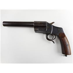 WWI GERMAN FLARE GUN MARKED J& C, MODEL: FLARE GUN , CALIBER: 26MM