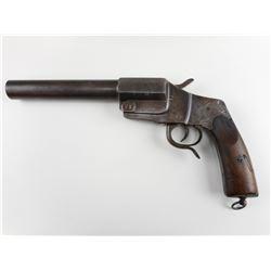 WWI GERMAN,  FLARE GUN, MODEL: FLARE GUN , CALIBER: 20GA BARREL