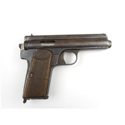 FROMMER, MODEL: STOP, CALIBER: 9MM BROWNING SHORT