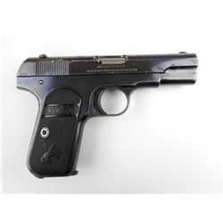 COLT, MODEL: 1908 POCKET HAMMERLESS , CALIBER: 380 AUTO