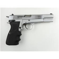 BROWNING, MODEL: HIGH POWER NICKEL , CALIBER: 9MM LUGER