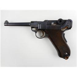 LUGER, MODEL: 1906 SWISS, CALIBER: 7.65 PARABELLUM