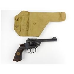 WWII ERA, ENFIELD, MODEL: NO2 MARK 1 *, CALIBER: 38 S&W